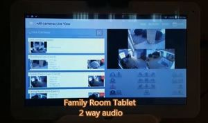 Family Room Tablet