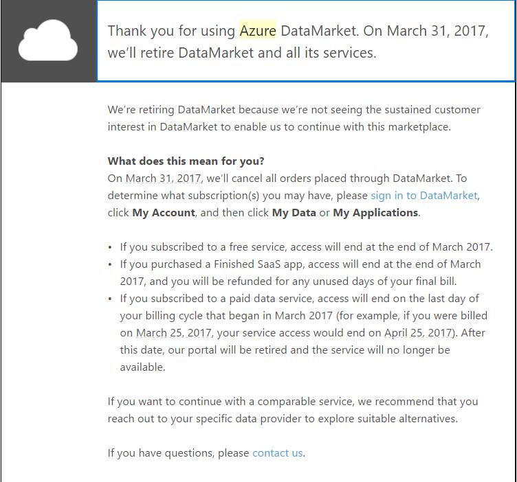 Shutdown Email