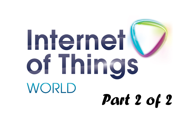 Smart Homes at IoT World (Part 2 of 2)