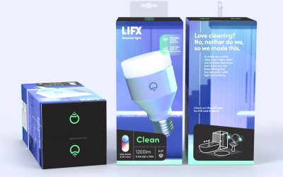 "LIFX plans to attack Corona Virus Covid-19 with new ""LIFX clean"" bulbs"